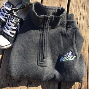 FGCU Florida Gulf Coast University HalfZip Sweater